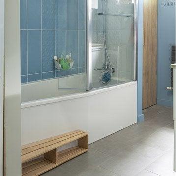 Baignoire porte baignoire douche salle de bains - Leroy merlin salle de bain baignoire ...