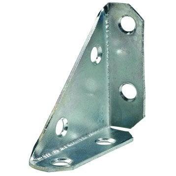 1 raccord d'assemblage acier zingué HETTICH, l.105 mm