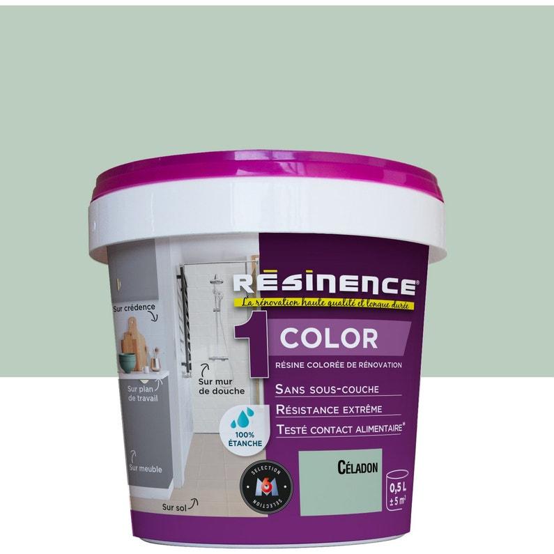 Peinture Toutes Pièces Multisupport Color Résinence Céladon Satin 05 L