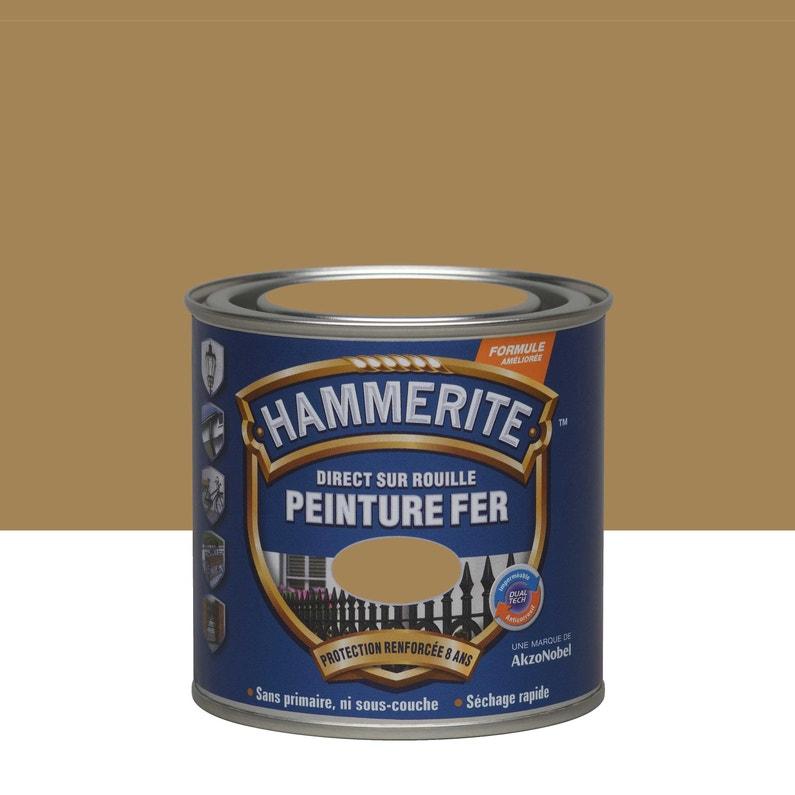 Peinture Fer Extérieur Hammerite Bronze 0 25 L