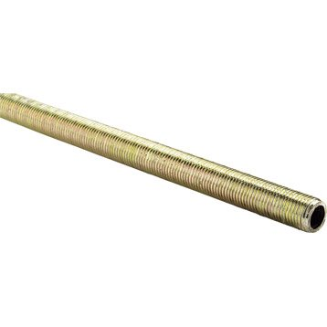 Tige filetée acier bichromaté, L.1000 x Diam.10 mm, ALFER