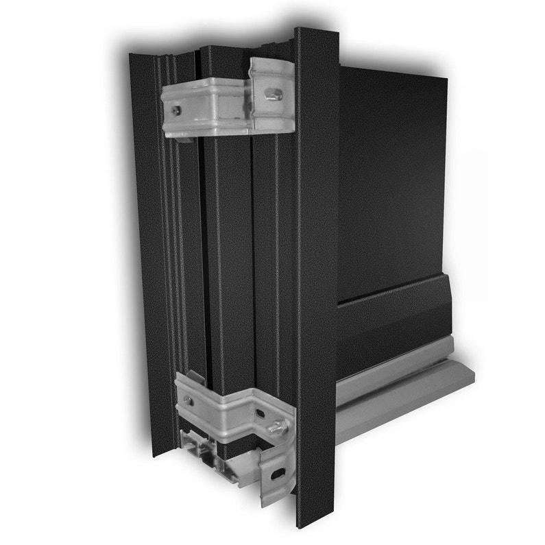 Tap e d 39 isolation pour porte d 39 entr e x cm aluminium essentiel leroy merlin - Isolation porte d entree ...