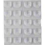 Lot de 20 amortisseurs en plastique 3M