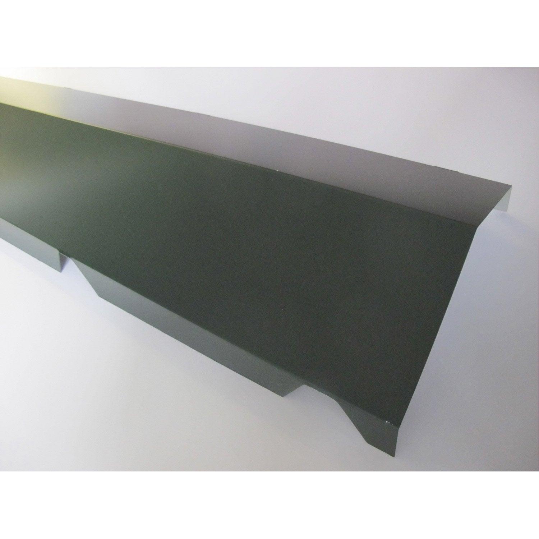 fa ti re sur mur pour plaque nervur e 63 100 gris ral 7016. Black Bedroom Furniture Sets. Home Design Ideas