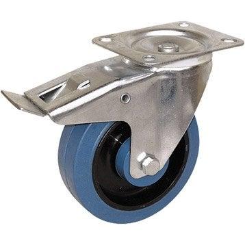Roulette pivotante à platine, Diam.100 mm
