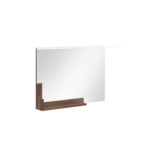 Miroir avec tablette cm eden leroy merlin for Miroir seducta 90 cm