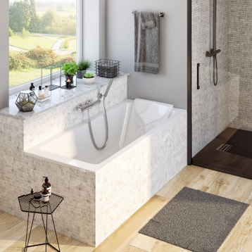 Baignoire baln o baignoire baln o spa et sauna au - Baignoire rectangulaire sofa jacob delafon ...