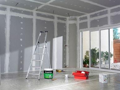 Comment poser des plaques de plâtre au mur et au plafond ...