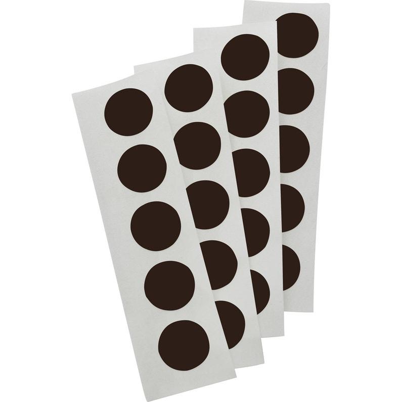 Lot De 100 Cache Vis Plastique Standers Diam 13 Mm Leroy Merlin