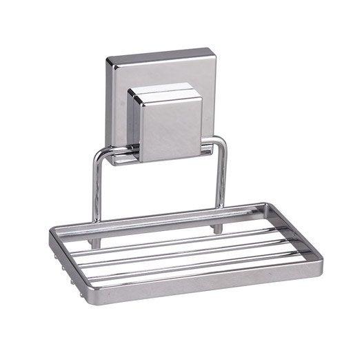 porte-savon acier smart lock | leroy merlin