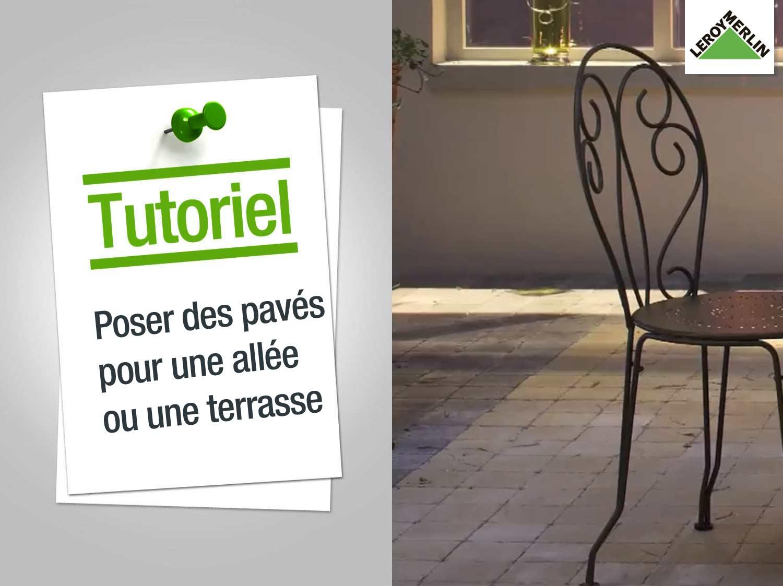 Comment Placer Des Dalles De Jardin comment poser des pavés pour une allée ou une terrasse