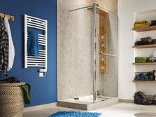 Installer une douche leroy merlin - Poser une paroi de douche fixe ...