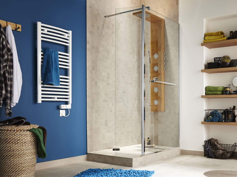 comment poser une paroi dans une douche à l'italienne ? | leroy merlin