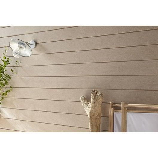 bardage bois pvc composite leroy merlin. Black Bedroom Furniture Sets. Home Design Ideas
