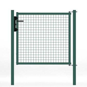 Portillon grillag portillon leroy merlin for Portillon de jardin largeur 1m20