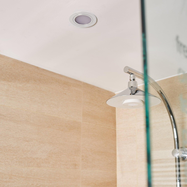 Kit 1 Spot à Encastrer Salle De Bains Orientable INSPIRE LED Intégrée Blanc  ...
