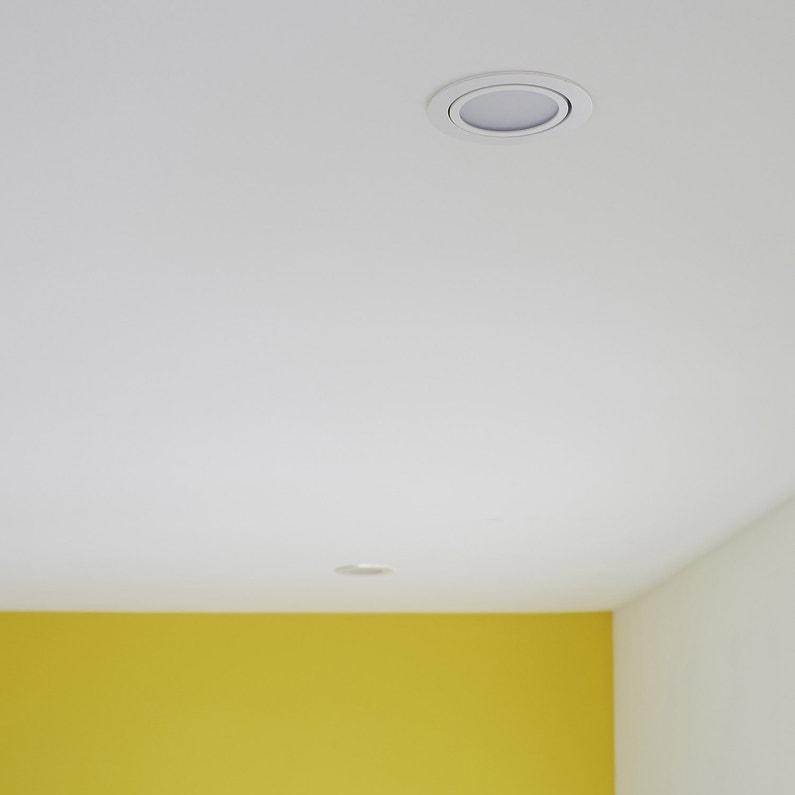 Kit 1 spot à encastrer salle de bains orientable INSPIRE LED ...