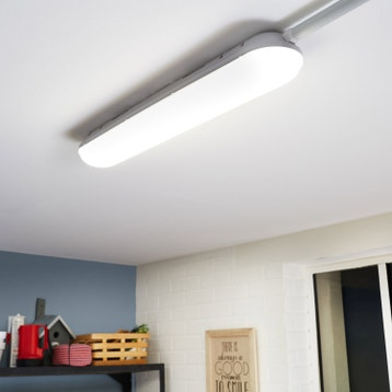 eclairage garage cave et grenier luminaire int rieur au meilleur prix leroy merlin. Black Bedroom Furniture Sets. Home Design Ideas