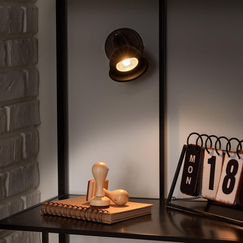 spot pat re industriel rusto inspire leroy merlin. Black Bedroom Furniture Sets. Home Design Ideas