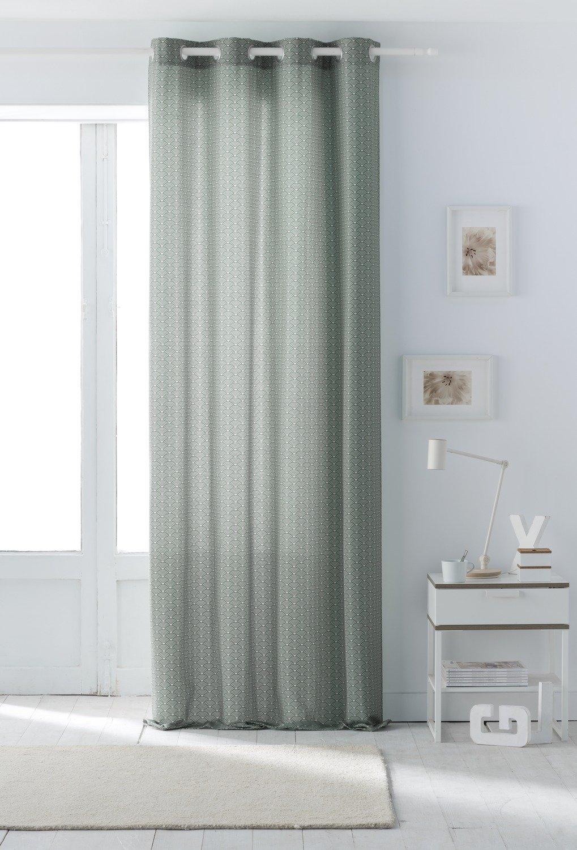 un rideau vert d 39 eau pour une ambiance v g tale leroy merlin. Black Bedroom Furniture Sets. Home Design Ideas