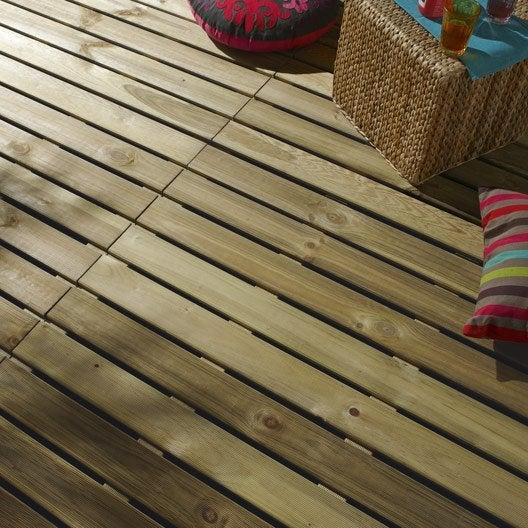 tout savoir sur les terrasses en bois composite | leroy merlin - Comment Monter Une Terrasse En Composite