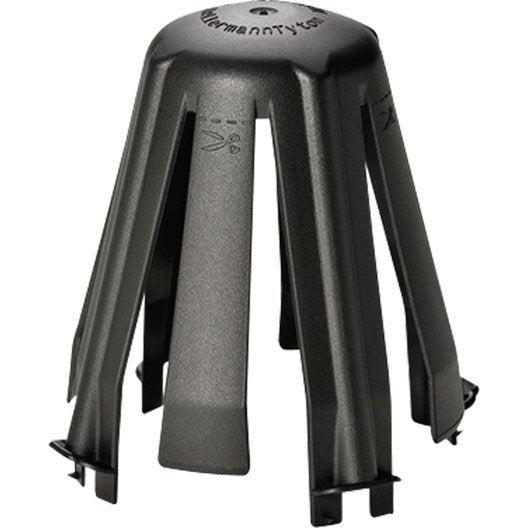 Lot de 3 cloches de protection pour spot encastrer for Protection laine de verre