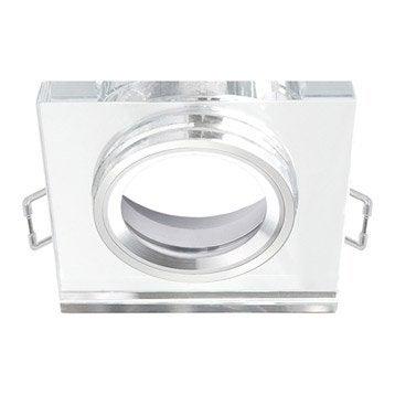 Anneau pour spot à encastrer Rende fixe sans ampoule INSPIRE transparent