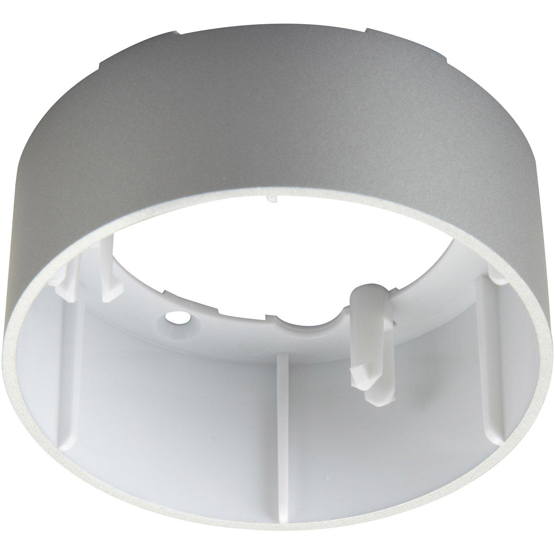 anneau pour spot encastrer tresol fixe sans ampoule osram aluminium leroy merlin. Black Bedroom Furniture Sets. Home Design Ideas