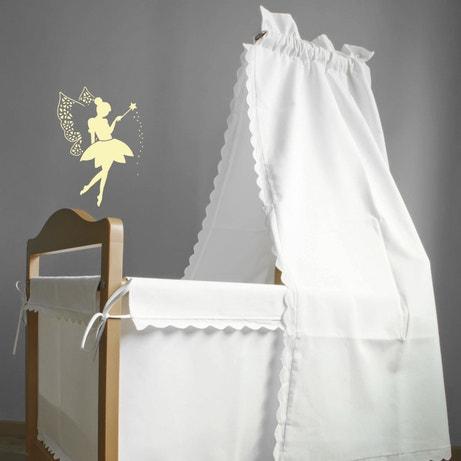 Décorer le mur de la chambre de bébé avec le pochoir de la petite fée