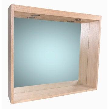 Miroir avec éclairage intégré l.80.0 cm, SENSEA Storm
