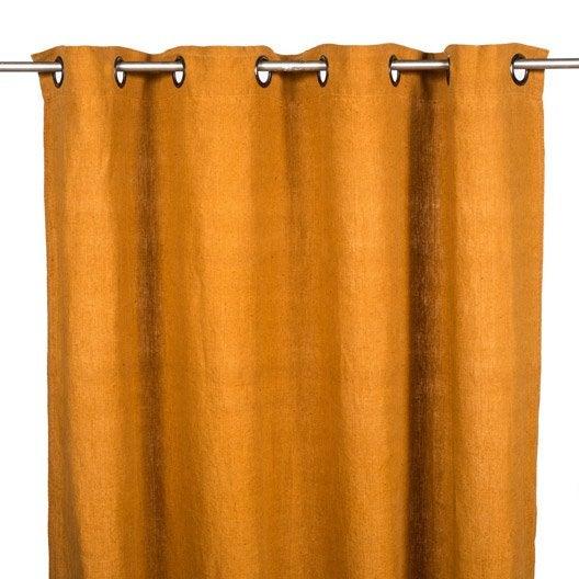 rideau tamisant grande hauteur solenzara alezan x cm leroy merlin. Black Bedroom Furniture Sets. Home Design Ideas