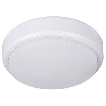 Hublot LED intégrée, 1 X 8 W, oval, blanc chaud