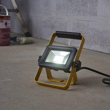 Projecteur portable extérieur LED intégrée aluminium INSPIRE