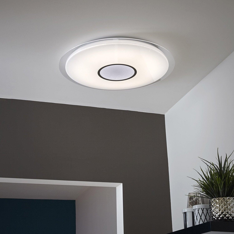 Ceiling Integrated Led Design Plastic Vizzini White 1 Inspire