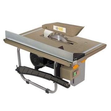 Scie lectrique stationnaire machine d 39 atelier - Scie circulaire de table leroy merlin ...