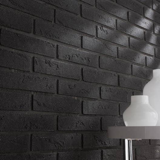 plaquette de parement pierre naturelle anthracite. Black Bedroom Furniture Sets. Home Design Ideas
