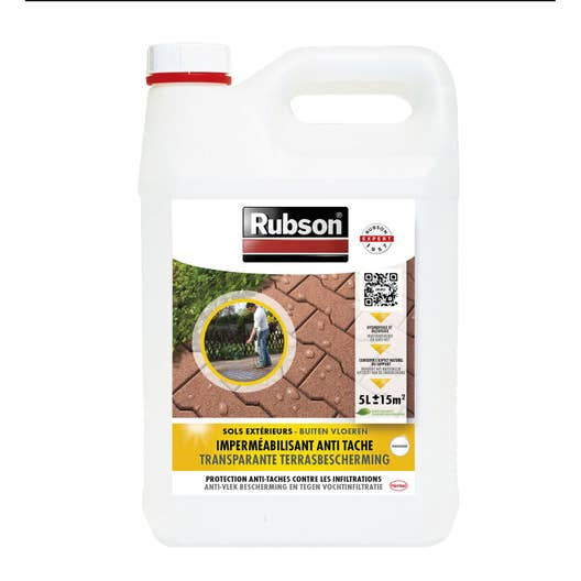 impermabilisant sol invisible rubson incolore 5 l