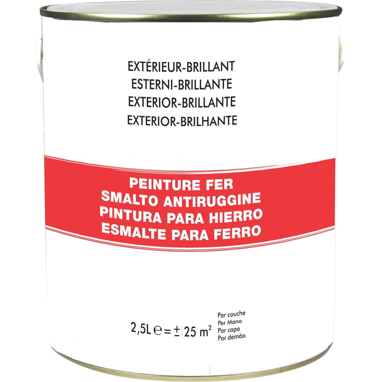 Peinture Fer Extérieur Blanc Blanc N0 25 L