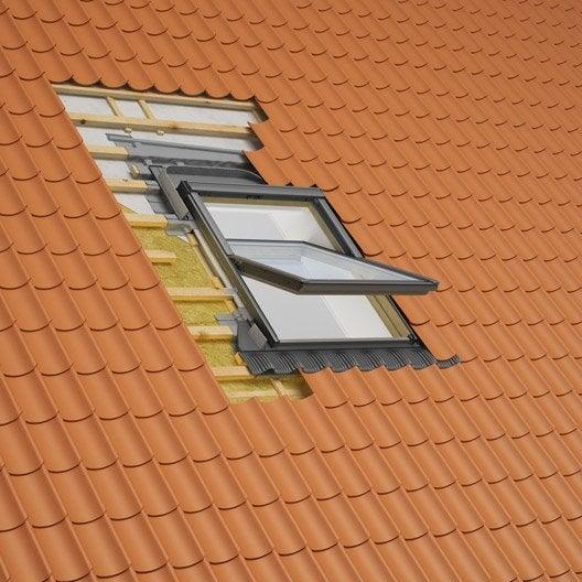 collerette d 39 tancheit standard pour fen tre de toit velux bfx mk08 1000 gris leroy merlin. Black Bedroom Furniture Sets. Home Design Ideas