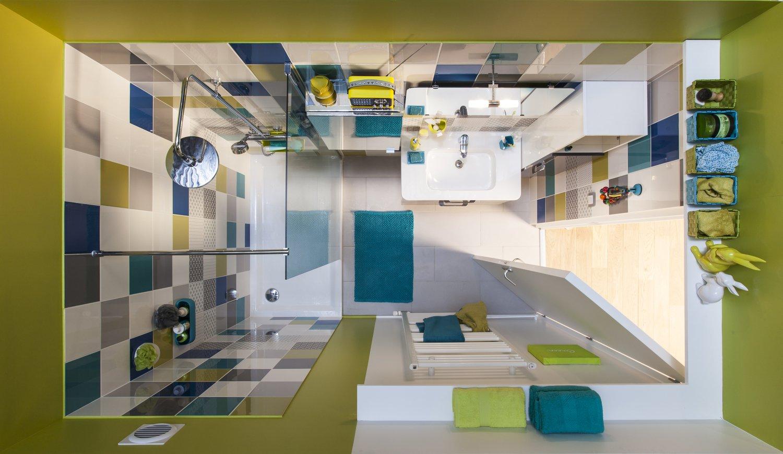 Petite Salle De Bains Colorée Leroy Merlin - Salle de bains coloree