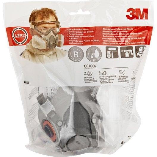 Masque de protection peinture et vernis 3M PROTECT