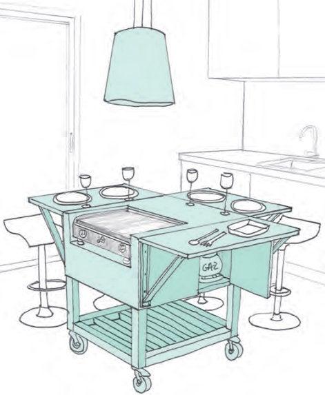 Chic un lot dans ma cuisine leroy merlin - Cuisine pratique et fonctionnelle ...