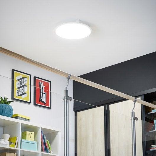 panneau led int gr e gdansk inspire diam 45 cm 36 w intensit variable leroy merlin. Black Bedroom Furniture Sets. Home Design Ideas