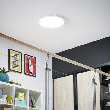 Panneau LED intégrée Gdansk INSPIRE diam. 45 cm, 36 W, intensité variable