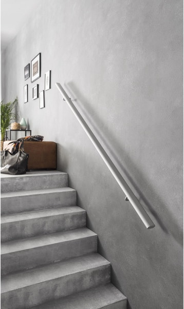 Rampe d\'escalier, main courante au meilleur prix | Leroy Merlin