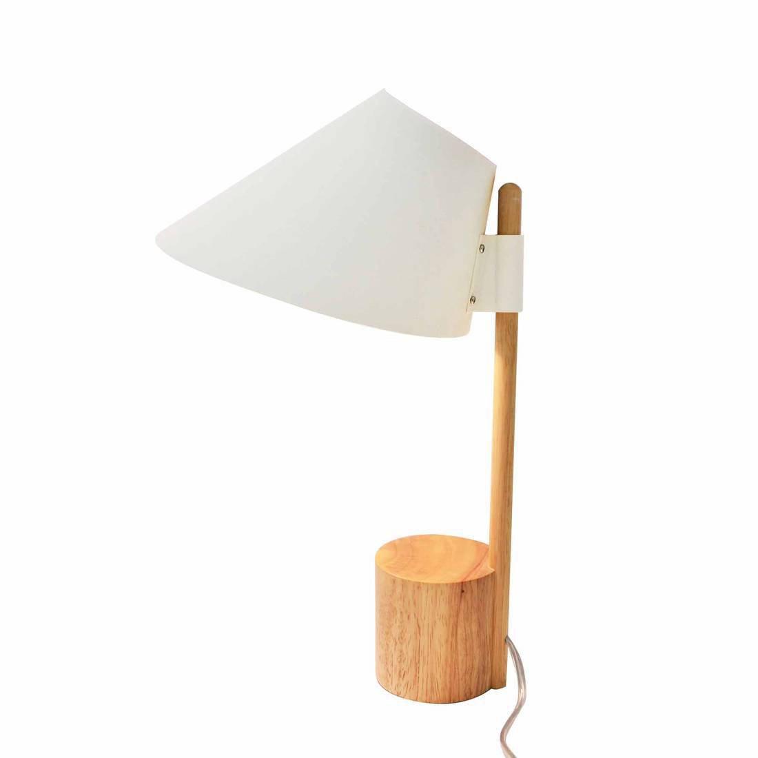 Lampe, design, bois blanc et bois, LO EDITIONS Capy
