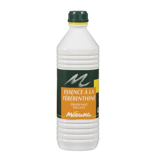 Essence la t r benthine mieuxa 1 l leroy merlin - Essence de terebenthine utilisation ...
