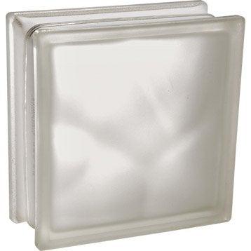 brique de verre au meilleur prix leroy merlin. Black Bedroom Furniture Sets. Home Design Ideas
