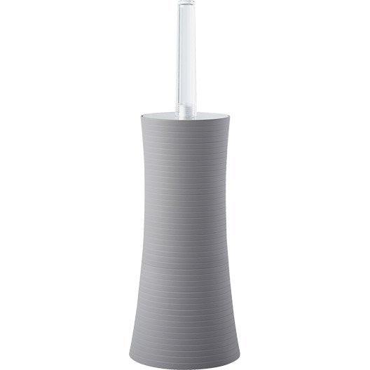 Brosse WC Gom, gris galet 3 | Leroy Merlin