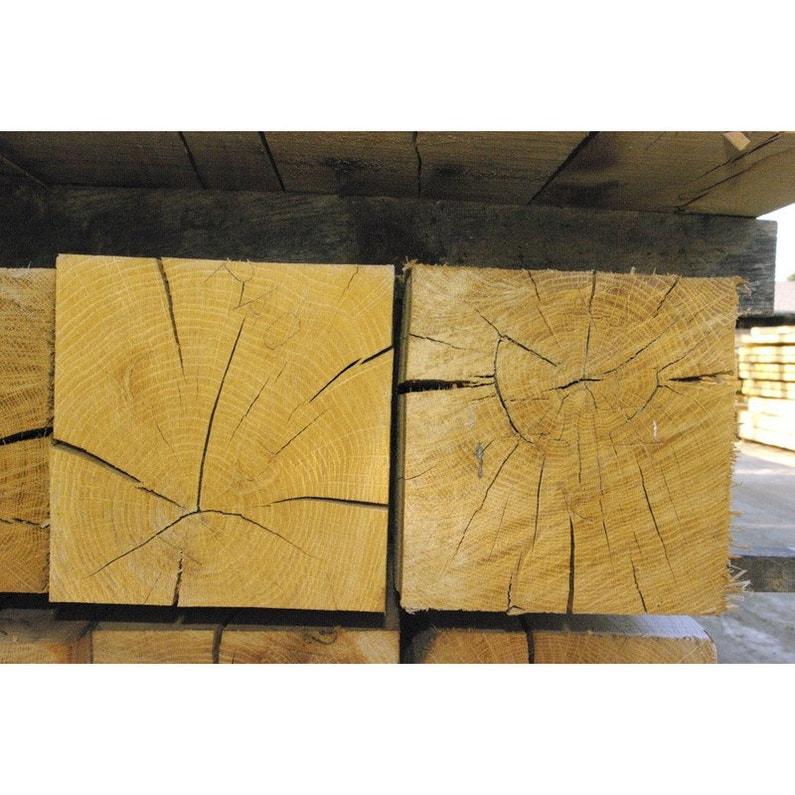 Poutre En Chêne 15x15 Cm Long 3 M Sans Traitement